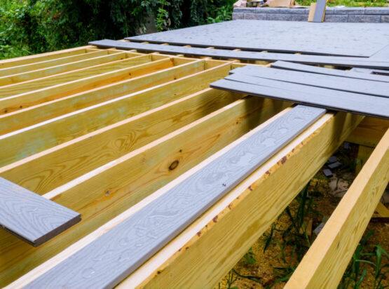 deck installation bentonville