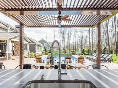 outdoor kitchen Bentonville