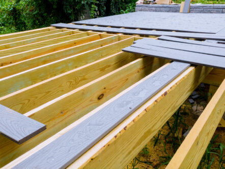 deck installation cost Bentonville