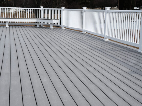 composite deck installation Bentonville