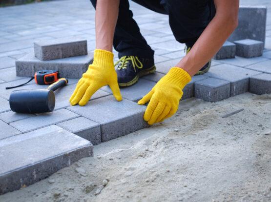 stone patio cost Bentonville